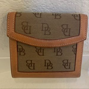Dooney & Bourke Women Brown Bifold Wallet